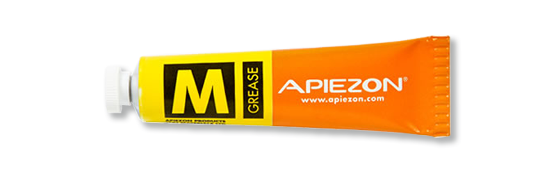 image of an Apiezon M grease tube