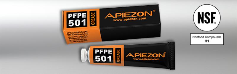 image of the Apiezon PFPE501 carton and tube
